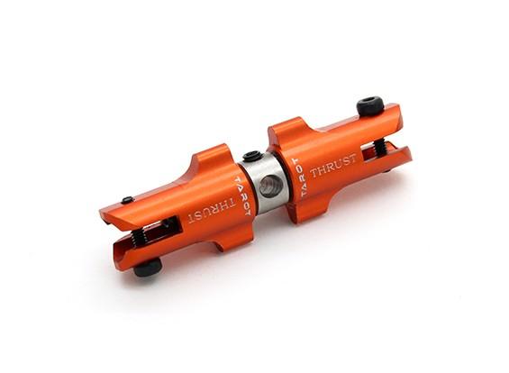 Tarot 450 Pro / Pro Tail Holder V2 DFC Métal Set avec des paliers de butée - Orange (TL45034-04)