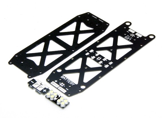 Dart 250 Remplacement inférieur Frame set PDB et LED