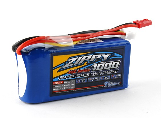 ZIPPY FlightMax 1000mAh 3S1P 25C