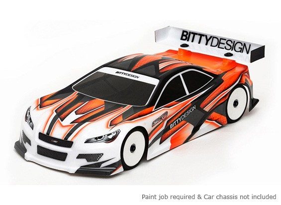Bittydesign Striker-SR v3.0 190mm 1/10 Touring Car Body Racing (RAAR approuvé)