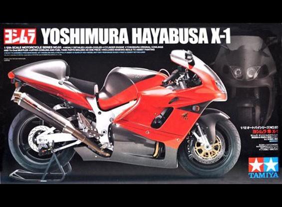 Kit Tamiya 1/12 Échelle Yoshimura Hayabusa X-1 Plastic Model