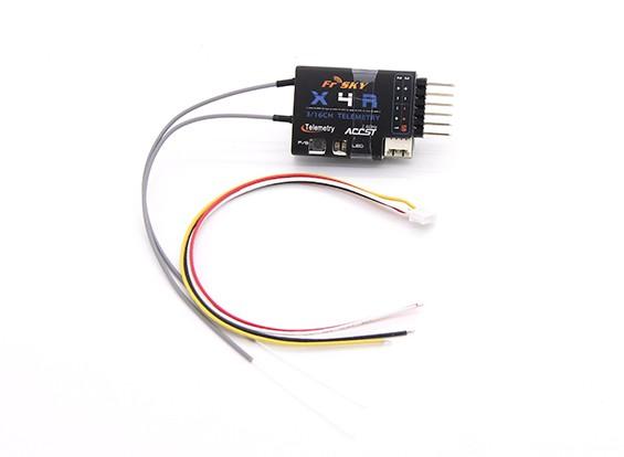 FrSky X4RSB 3 / 16ch 2.4Ghz ACCST Receiver (w / télémétrie)