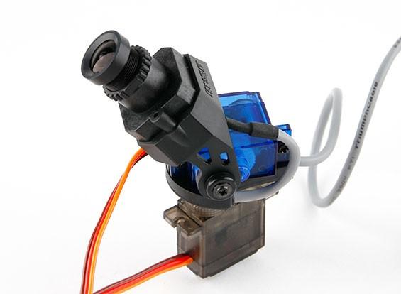 Caméra Fatshark 600TVL Haute Résolution FPV Tuned Pan / Tilt CMOS (version de mise à niveau)