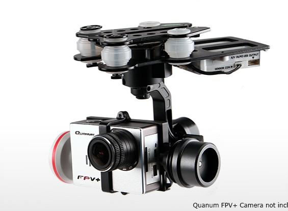 Quanum Q-3D Brushless 3-Axis Caméra Gimbal (adapté pour Nova, Scout X4, Phantom, QR X350 etc.)