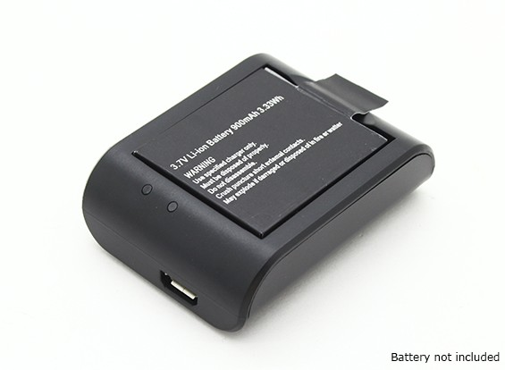 Chargeur de batterie - Camera Turnigy ActionCam 1080P Full HD Video