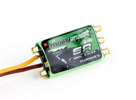 Turnigy Multistar 6A V2 ESC Avec BLHeli et OPTO 2-3S