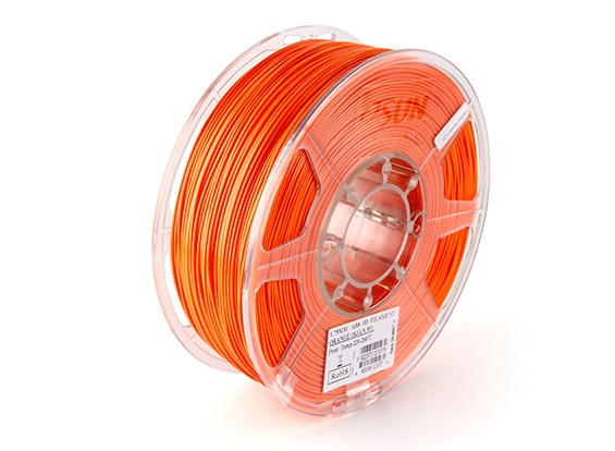 ESUN Imprimante 3D Filament orange 1.75mm ABS 1KG Rouleau