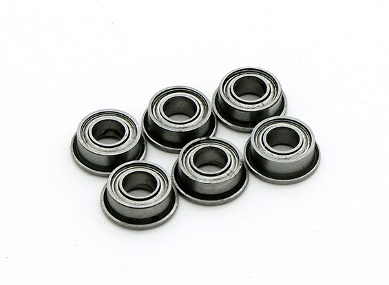 Noyau Airsoft 6mm Double Groove Stainless Bushing (x6)