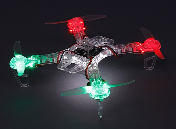 HobbyKing FPV250 Esprit Édition LED Night Flyer FPV Quad Copter