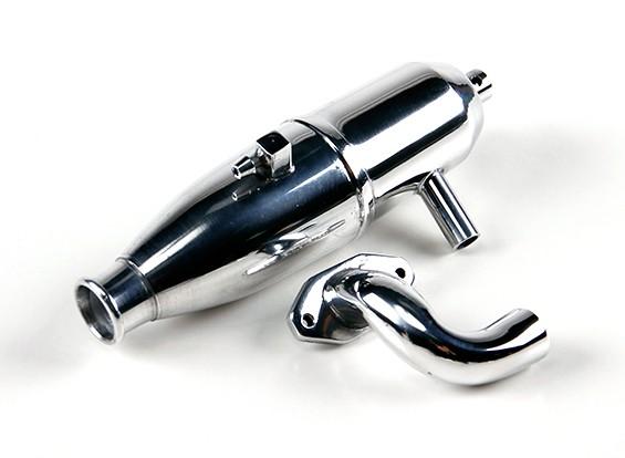 1/10 Echelle Auto / Off Road Nitro Tuned pipe et Manifold Set