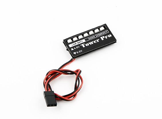 Moniteur LED Voltage Receiver