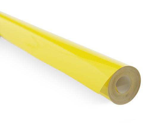 Revêtement Film Cyan solide jaune (5mtr) 105