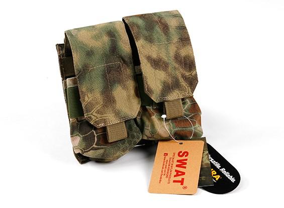 SWAT Molle M4 Double Mag Pouch (Kryptek Mandrake)