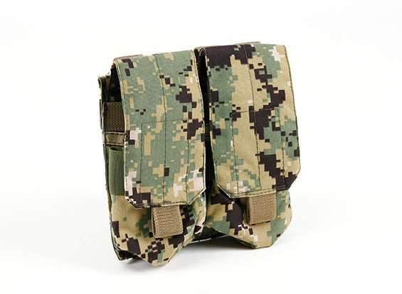 SWAT Molle M4 Double Mag Pouch (Aor2)