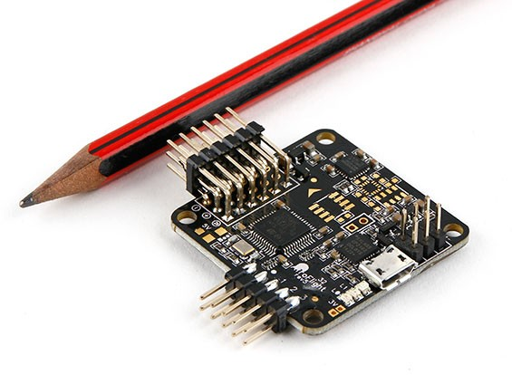 AfroFlight Naze32 REV5 Acro Funfly Controller - Version Soudé (Horizontal Pin)