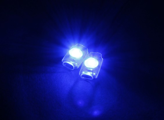 Turnigy Super Bright 2 x Bleu Add On LED Light Set