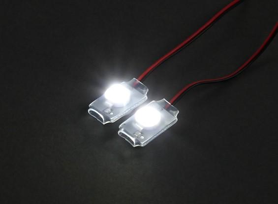 Turnigy Super Bright 2 x Blanc Add On LED Light Set