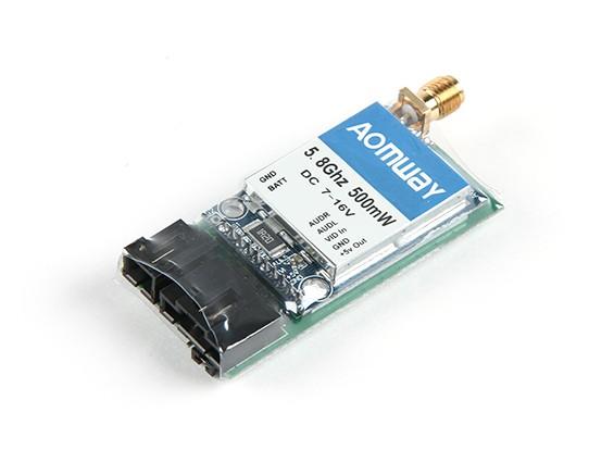 Le Transmetteur Vidéo 500mW Aomway 5.8G