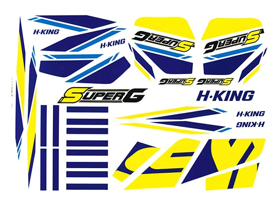 HobbyKing ™ Super-G Autogyro - Decal Set