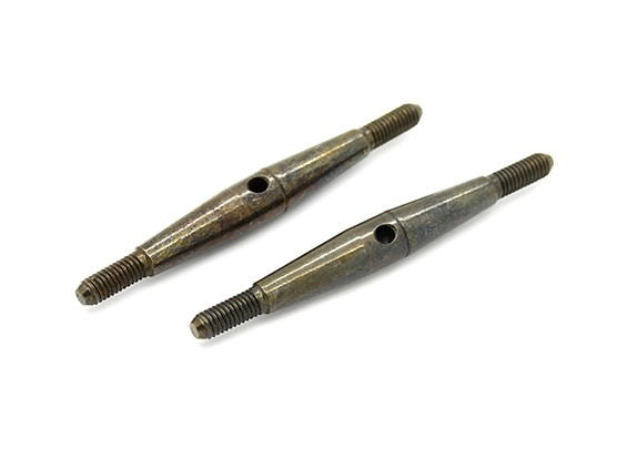 TrackStar 1/10 Spring Steel Turnbuckle M3x45 (2pcs)