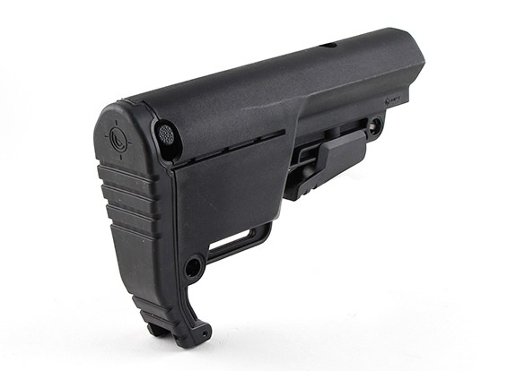 Low profile Mission First Tactical Buls BATTLELINK Utility Stock (Black)
