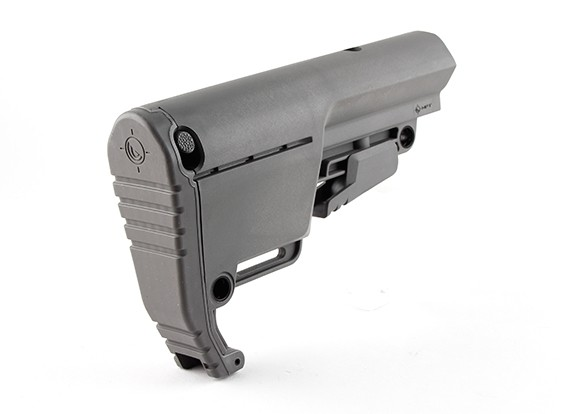 Low profile Mission First Tactical Buls BATTLELINK Utility Stock (Gris)