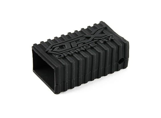 OrangeRx Silicone Shell en caoutchouc pour les récepteurs de la série R620 (Black)