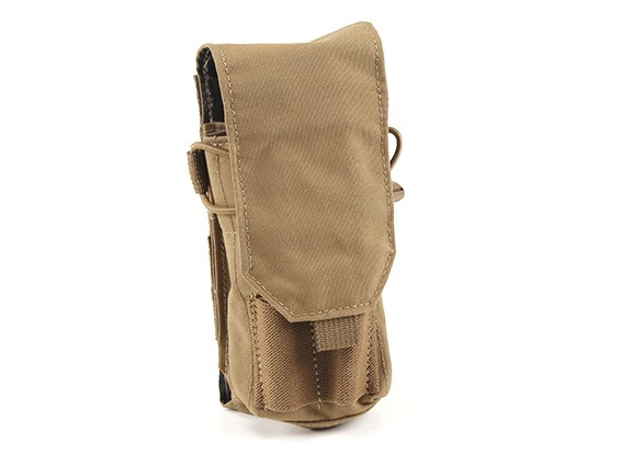 Grey Ghost Engrenage Double 5,56 Panel Mag (Coyote Brown)