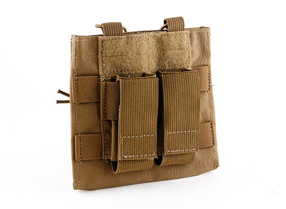 Grey Ghost Engrenage Double M4 / Pistol mag avec Chemlite Pouch (Coyote Brown)