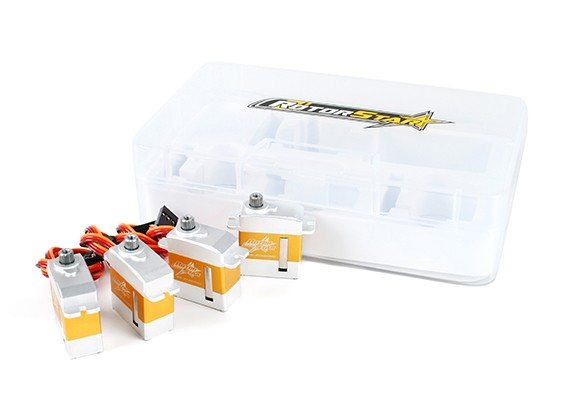 RotorStar RS-2130MGC / RS-3870MGT Servo Combo Pack convient 450 hélicoptères de taille