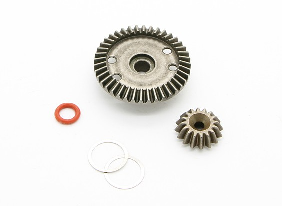 16T / 40T Diff. Gear - BZ-444 Pro 1/10 4WD Buggy Racing