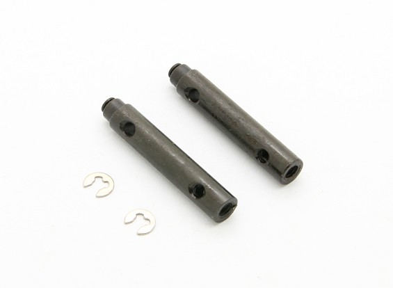 16T Engrenage Shaft (2pcs) - BSR Racing BZ-444 1/10 4WD Racing Buggy