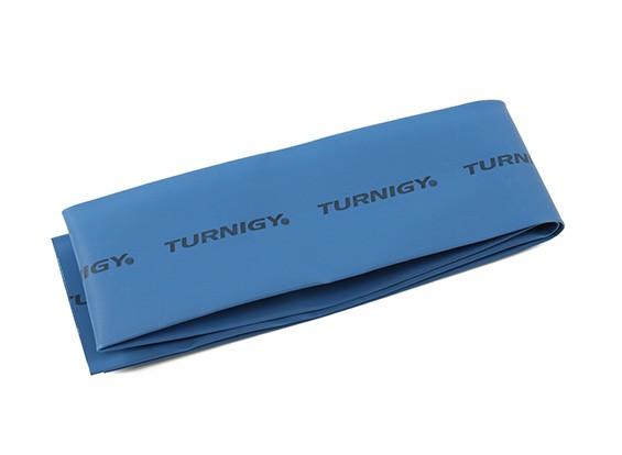 Turnigy thermorétractable Tube 50mm x 1mtr (Bleu)