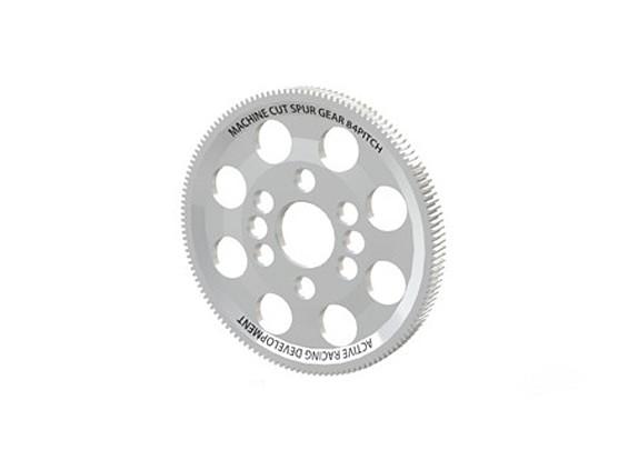 Actif Hobby 132T 84 Emplacement CNC Composite Spur Gear