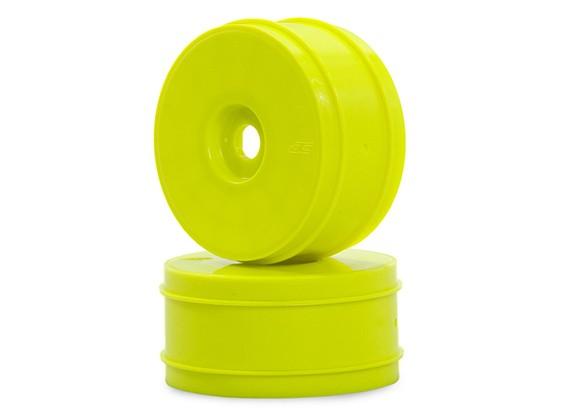 JConcepts Mono-Max-Ups 1 / 8ème Buggy Wheel - Jaune
