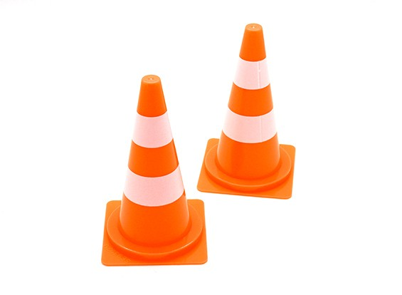 1/10 Échelle Traffic Cones - Large (2)