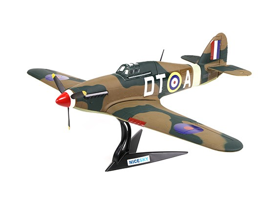 Hawker Hurricane MK1a 700mm 4 canaux Échelle Fighter