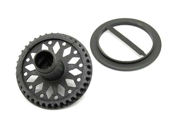 BT-4 Shaft plastique engrenage Ring / avant Spool TR1026
