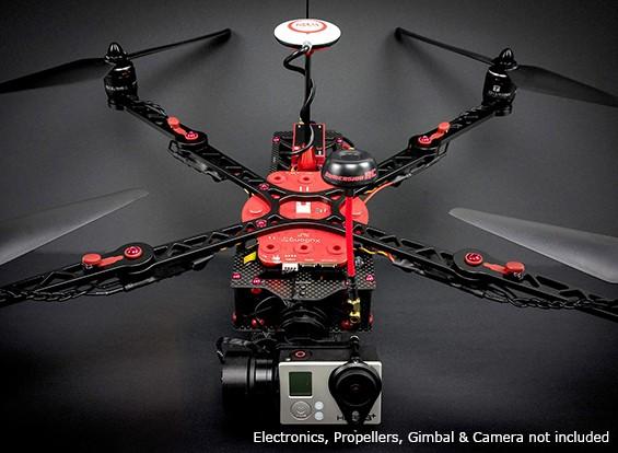 ImmersionRC Xugong V2 Kit Pro Quadcopter Avec Distribution Board Imprimé intégré