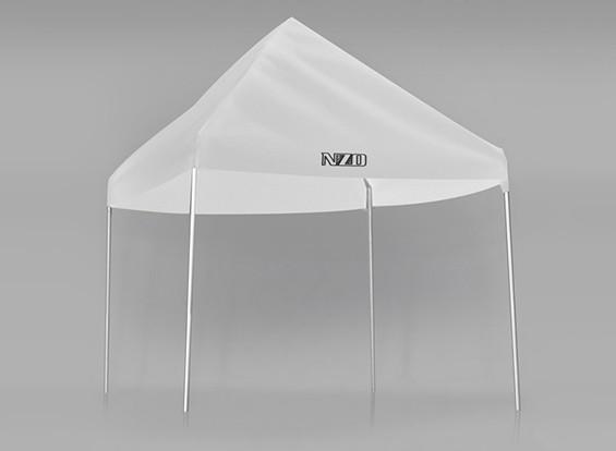 NZO 1/10 Pit Tent - Blanc