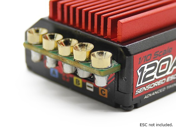 TrackStar Easy Fit ESC Connecteurs (5 paires / set)