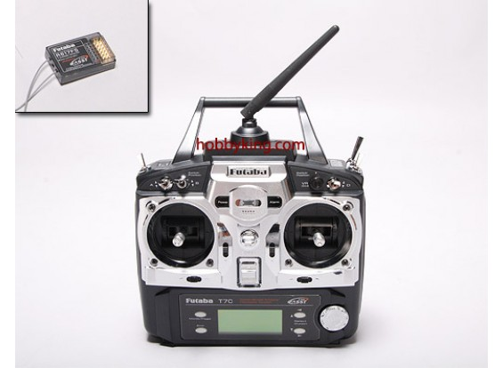 Futaba 7C 2.4GHz Heli w / R617FS Receiver (Mode 1)