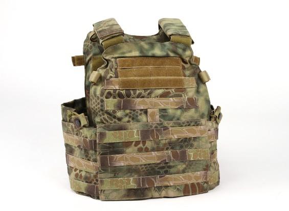 SWAT V6094 Vest avec plaque factice (Kryptek Mandrake)