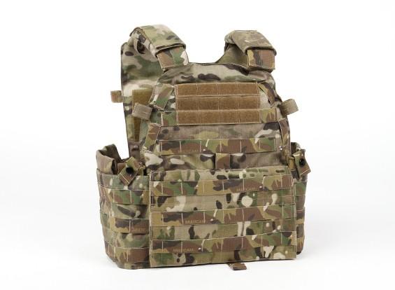SWAT V6094 Vest avec plaque factice (Multicam)