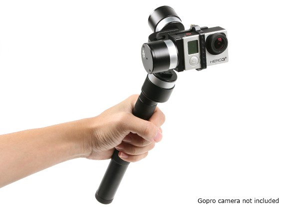 Z-1 Pround 3 axes Handheld Stabiliser Gimbal pour GoPro