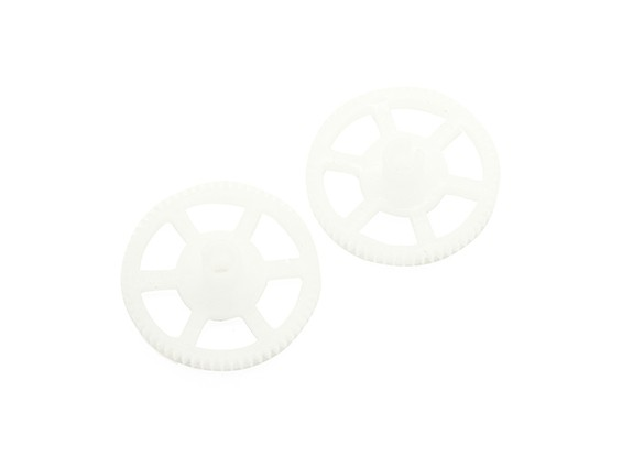 Assault 100 Flybarless Helicopter remplacement Main Gear (2pcs)