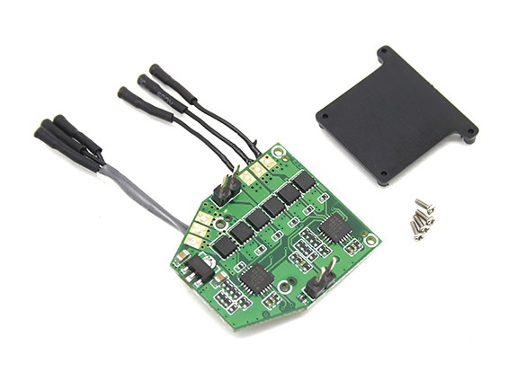 Module Assault 100 Flybarless Helicopter Remplacement de la carte PCB Turnigy RF Version seulement