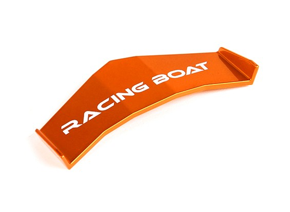FT009 haute vitesse V-Hull Racing Bateau 460mm remplacement Aileron (Orange)