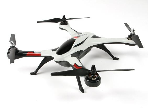 XK Air Dancer X350 Quad-Copter 3D (prise UK) (Mode 2) (RTF)