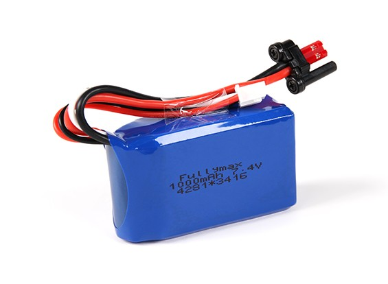 FX071C 2.4GHz 4CH Flybarless RC Helicopter remplacement 7.4v de 1000mah